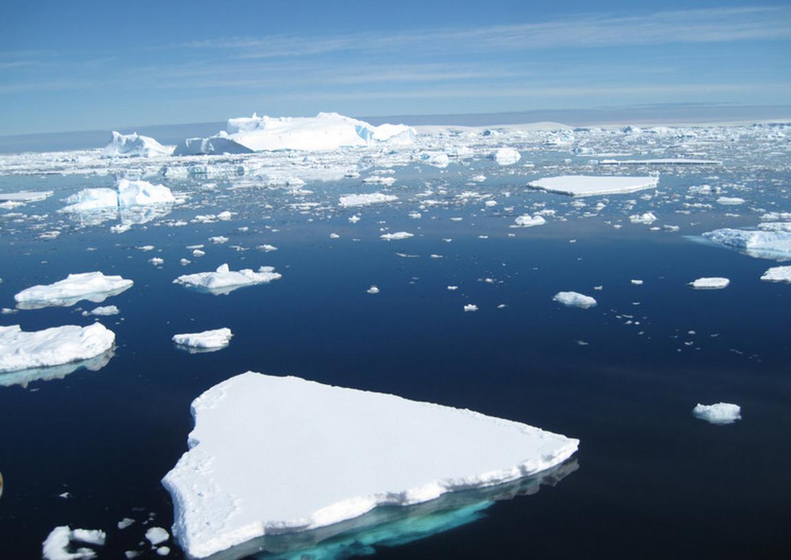 El deshielo de toda la Antártida aumentará el nivel del mar en 60 metros