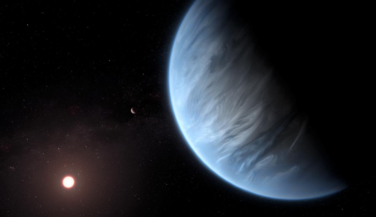 Encuentran agua en la atmósfera de un exoplaneta potencialmente habitable