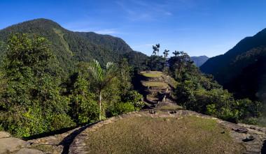 <p>Ruinas de Ciudad Perdida, construida por los indios tayronas en la Sierra Nevada de Santa Marta, en Colombia. / ICANH</p>