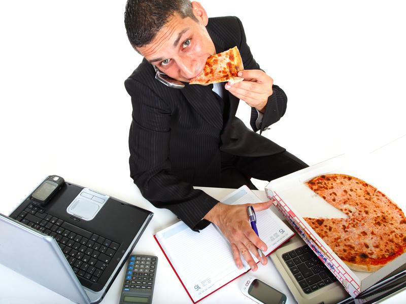 Comer de forma saludable en la oficina es posible