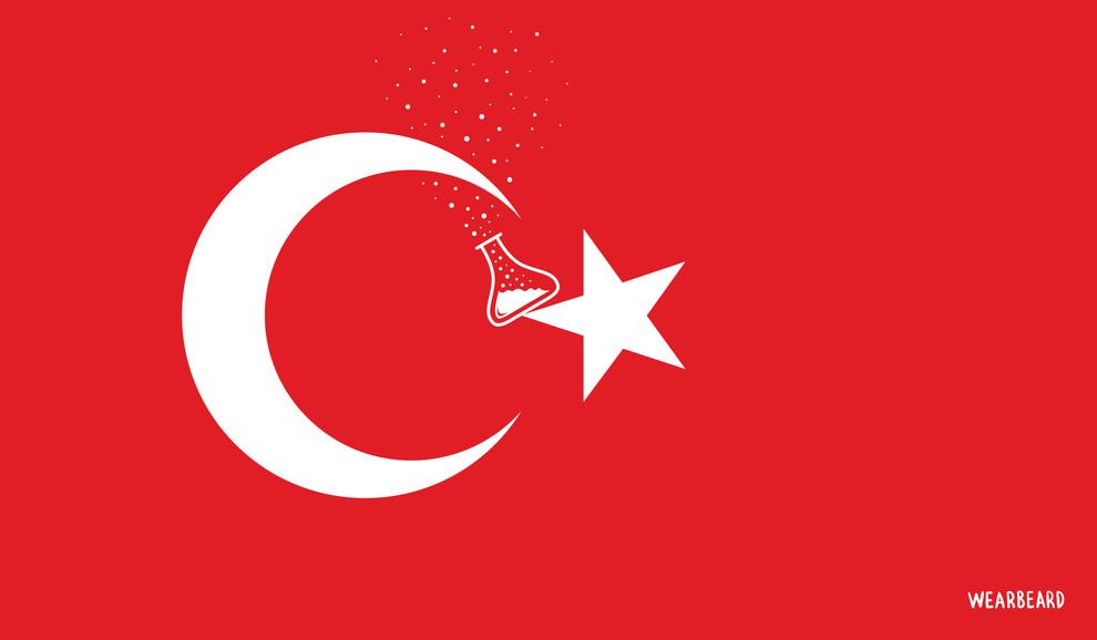 El nuevo escenario en Turquía podría suponer un frenazo para el creciente desarrollo científico del país, que en la última década ha duplicado su inversión en I+D y su número de investigadores. Ilustración: Wearbeard