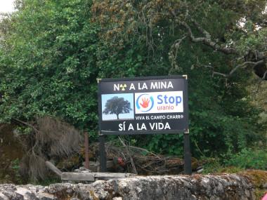 """<p/>La plataforma ciudadana Stop Uranio es una de las opositoras al proyecto de la mina / Maykel Pérez"""" /><span style="""