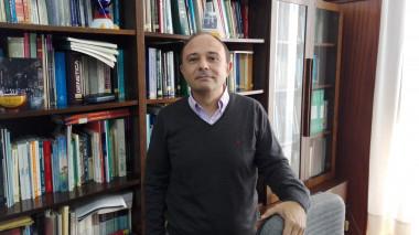 """<p/>Alberto Ruano Raviña en su despacho de la Universidad de Santiago de Compostela / Foto cedida por el autor"""" style="""""""" /><span style="""
