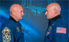 Scott Kelly abordo de la Estación Espacial Internacional