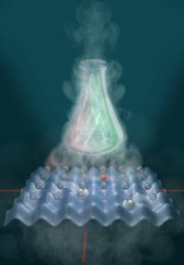 Un simulador cuántico analógico para resolver problemas químicos