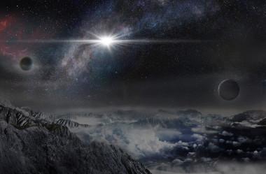 """Ilustración de la supernova superluminosaASASSN-15lh vista desde un exoplaneta situado a unos 10.000 años luz de distancia en su galaxia anfitriona. / Beijing Planetarium/Jin Ma</p> <p>"""" /></p> <p style="""
