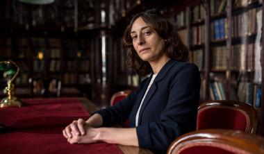 <p>Sandra Jurado en la Real Academia Nacional de Medicina de Madrid. / Olmo Calvo / SINC</p>