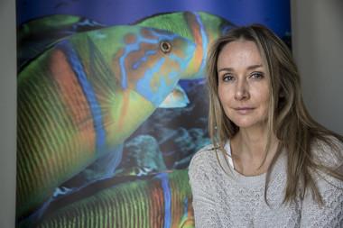 <p>Alexandra Cousteau ha visitado recientemente Madrid. / Olmo Calvo / SINC</p>