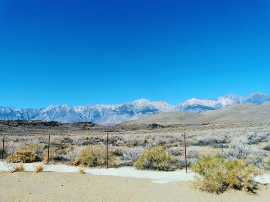 Sierra Nevada en California / F. B. Lanoe