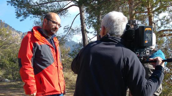 Lluís Brotons durante una entrevista / CREAF
