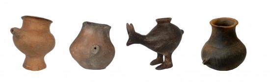 Selección de vasijas de alimentación de la Edad del Bronce Tardío / Katharina Rebay