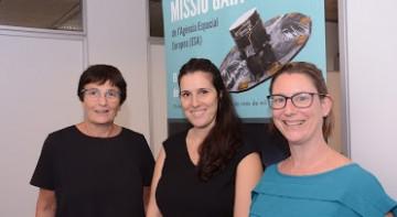 Francesca Figueras, Teresa Antoja y Merce Romero-Gomez, coautoras del trabajo. / ICCUB