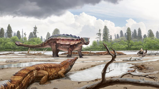 Nuevo dinosaurio descubierto