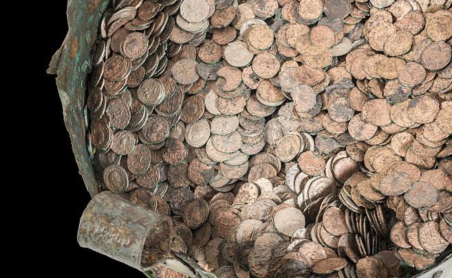 Este tesoro romano se descubrió de forma casual en 1937. / MAN/Ángel Martínez Levas