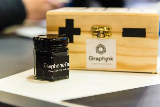 Tinta con grafeno para circuitos impresos GrapheneTech