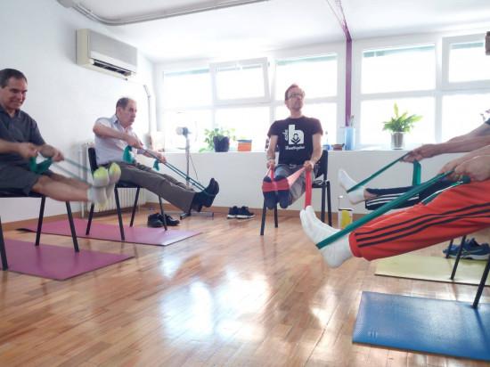 yoga para pacientes de huntington