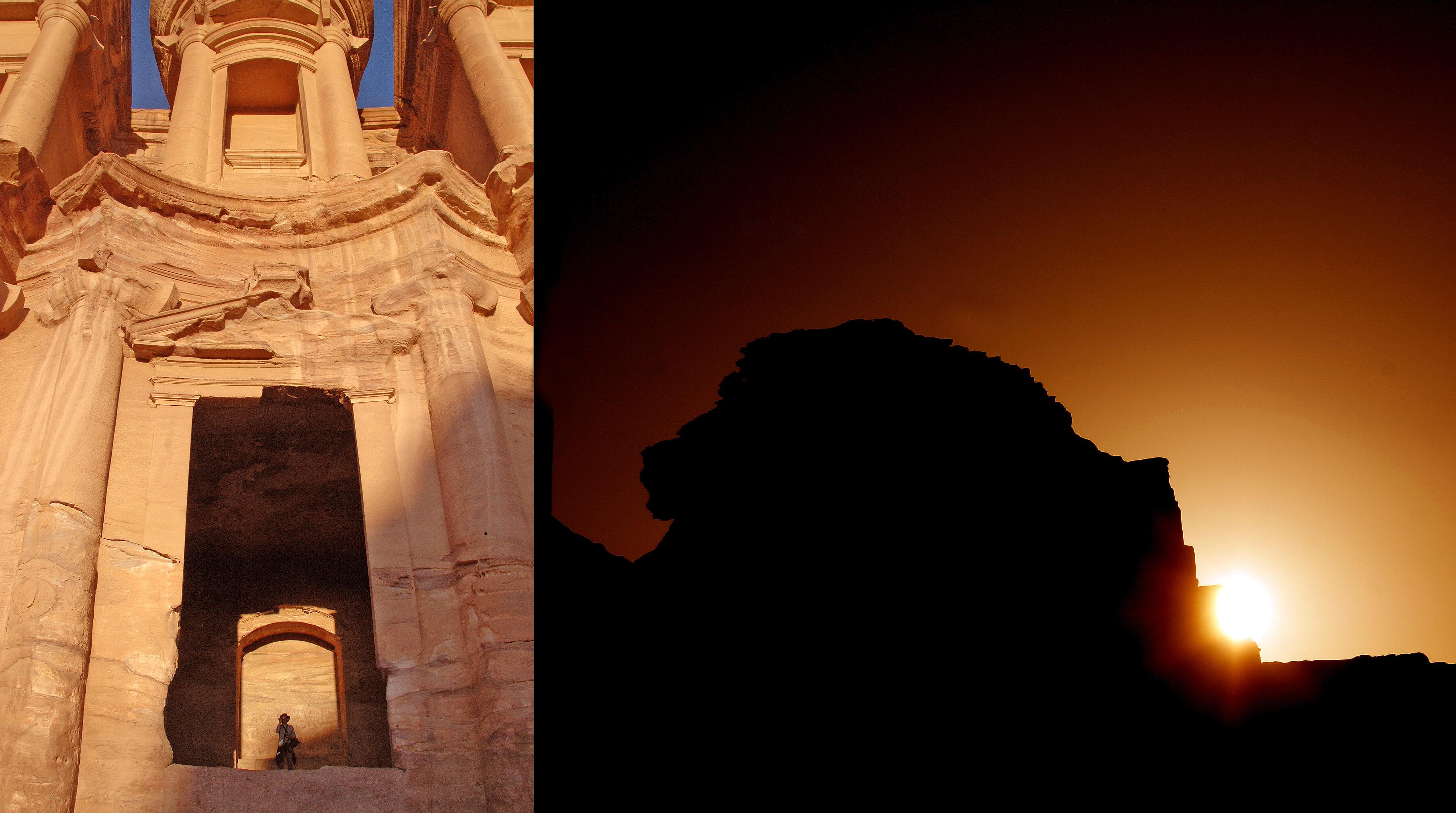 Las sombras de Petra despiertan su trazado astronómico