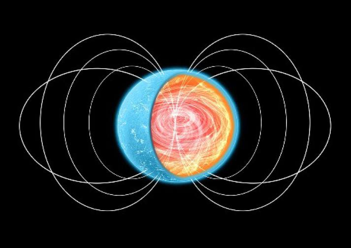 La 'pasta nuclear' limita el periodo de rotación de los púlsares