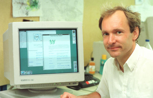 Tim Berners-Lee en 1994