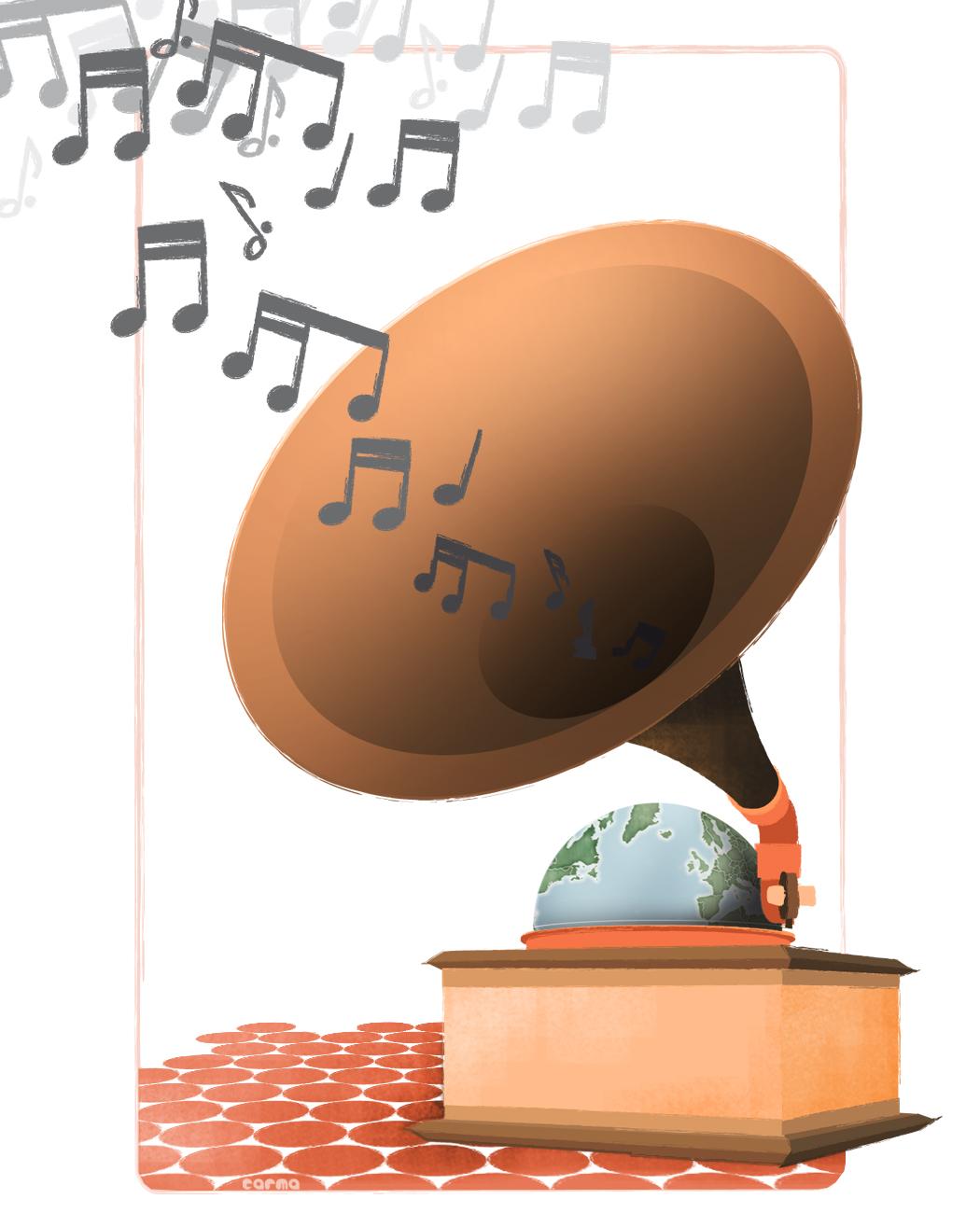 e3acda04e1 El 21 de junio se celebra el Día de la Música / Ilustraciones ...