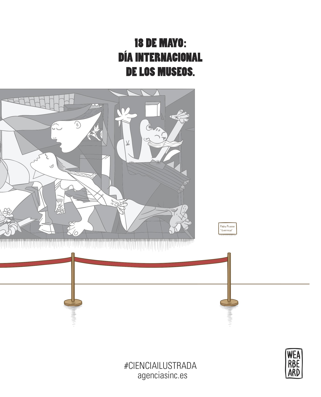 5ad17fe96c Los museos salen a la calle en su día internacional / Ilustraciones ...
