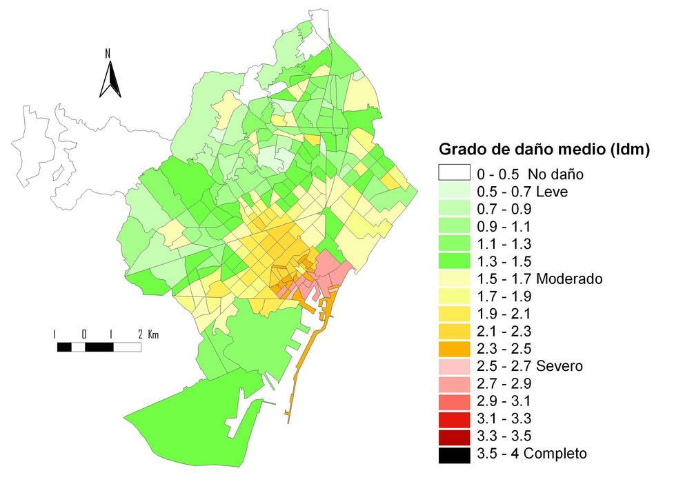 El 60% de los edificios de estructura de ladrillo en Barcelona son muy vulnerables a terremotos