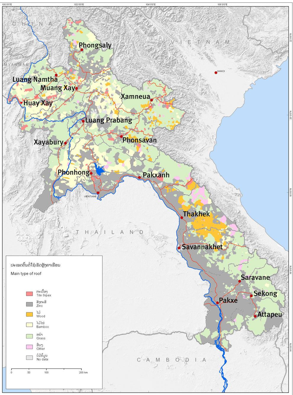 Diseñan un mapa que revela las diferentes facetas de la pobreza en Laos