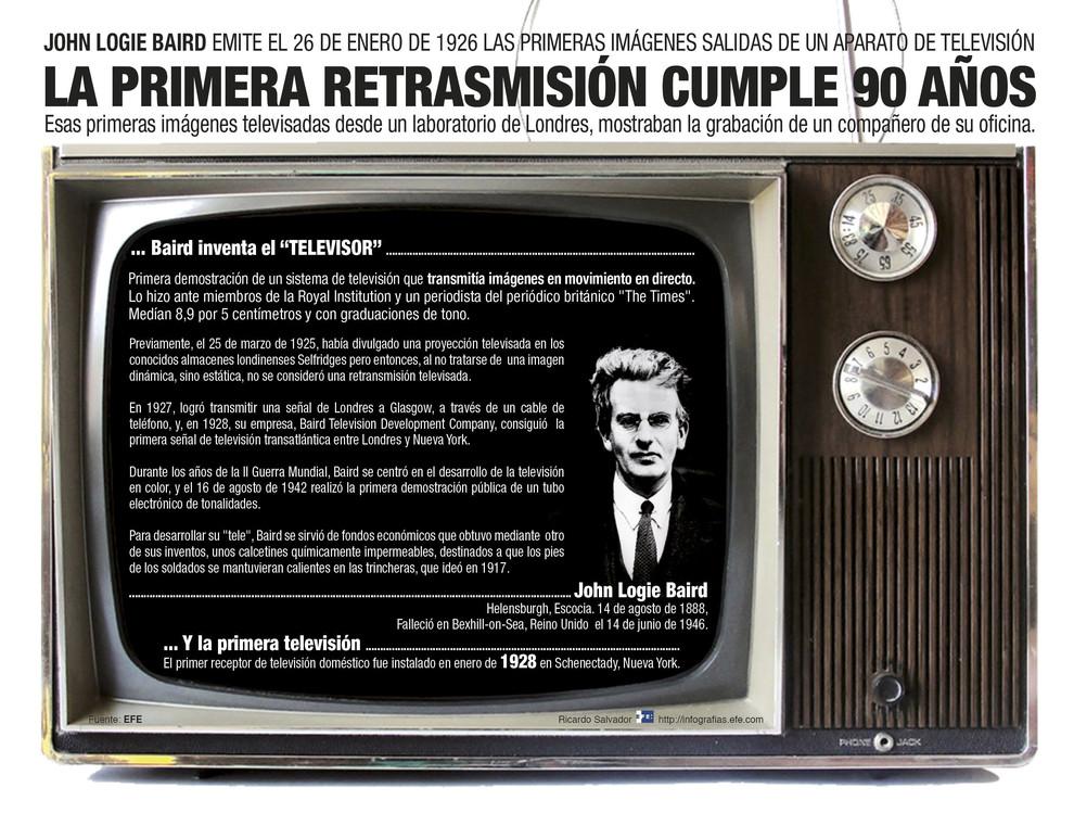La televisión cumple 90 años./ Efe