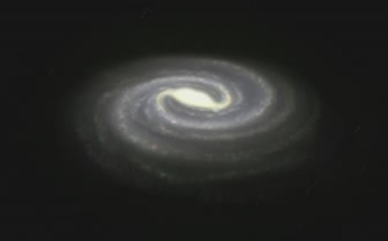 Un cacahuete en el centro de nuestra galaxia