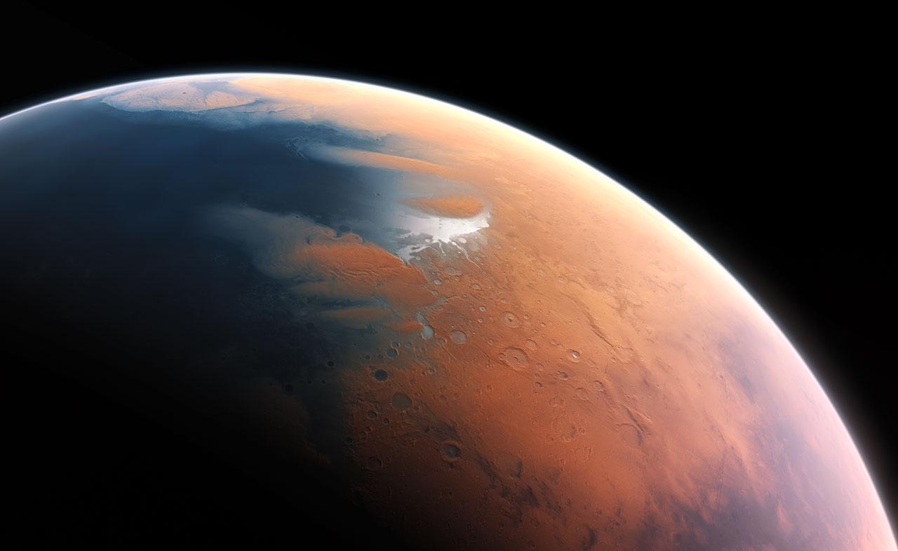 Marte tuvo un océano tan extenso como el Atlántico