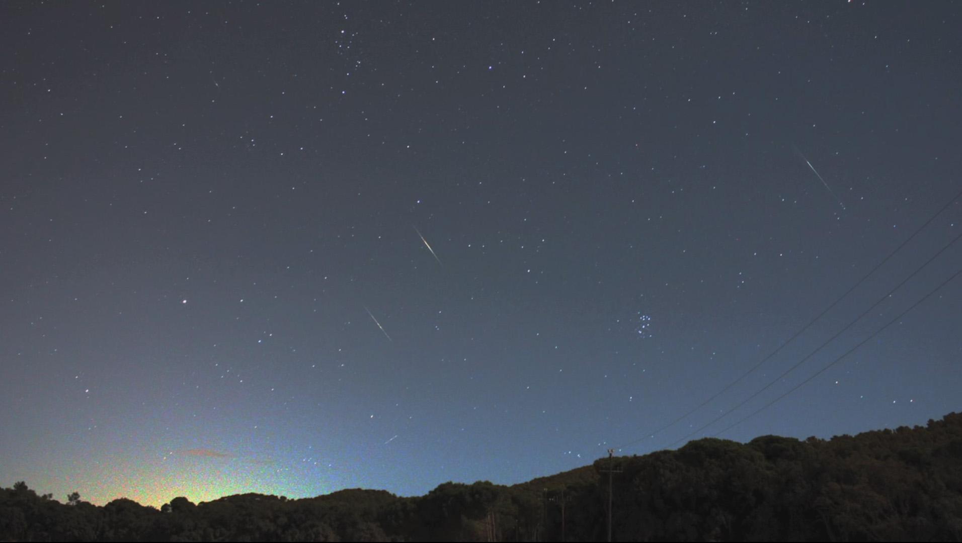 Las Dracónidas de 2011 arrojaron una tonelada de partículas sobre la Tierra