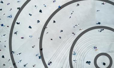 <p>Nuestros círculos de amistades oscilan en torno a 150 personas. / UC3M</p>