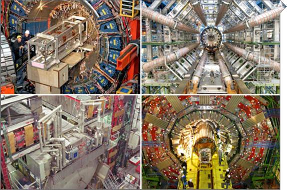 Resultado de imagen de experimentos del Tevatrón en el Fermilab