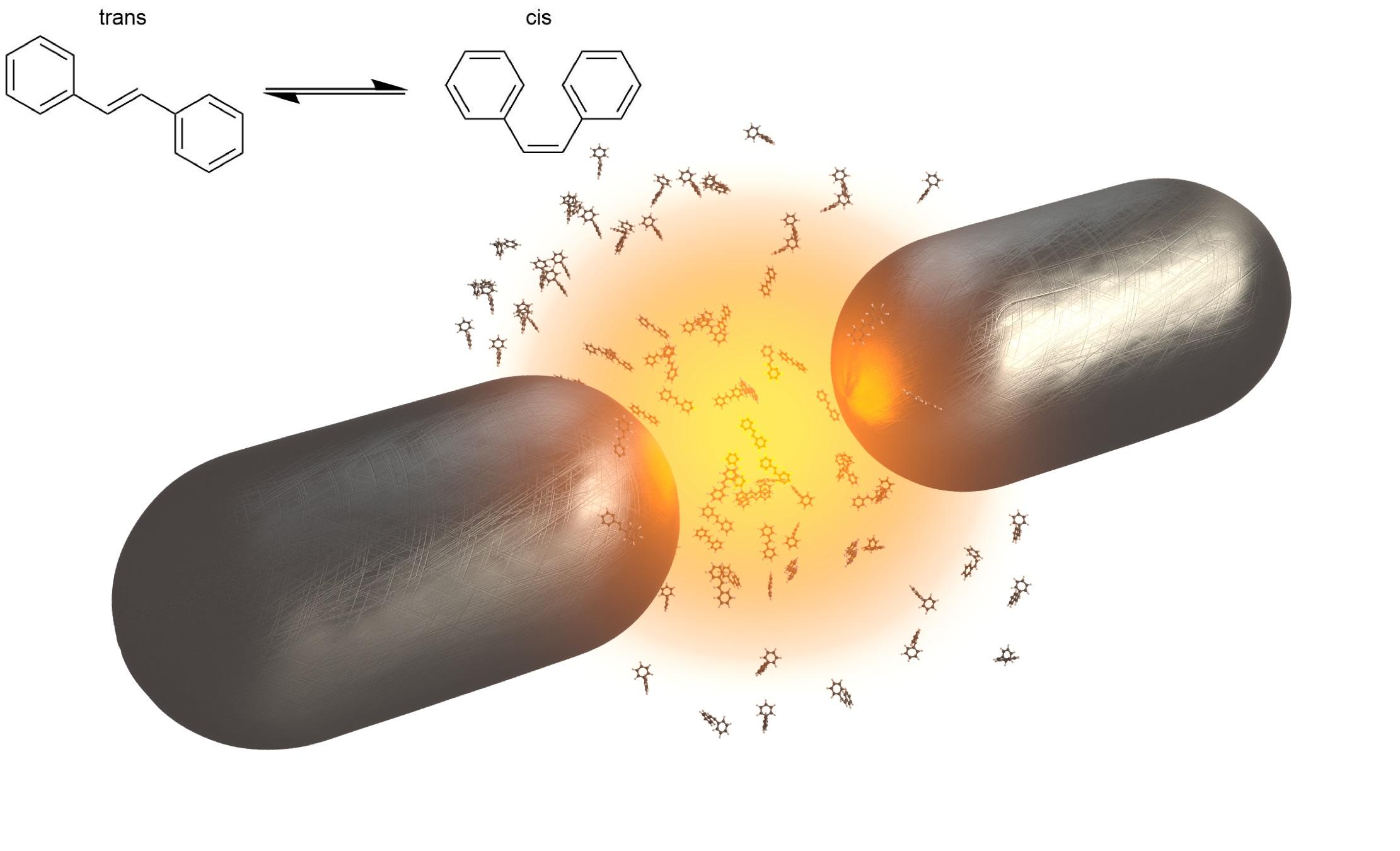Cómo parar reacciones fotoquímicas con moléculas orgánicas y luz