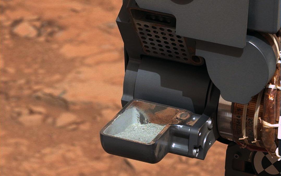 Confirmada la presencia de compuestos orgánicos en el suelo de Marte