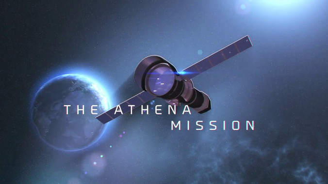 <p>Recreación del telescopio Athena, cuyo instrumento X-IFU contará con sensores TES /SRON</p>