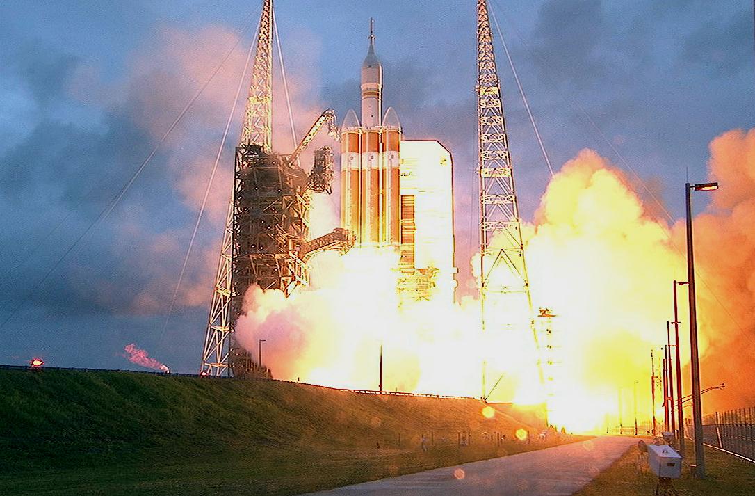 Despega la nave Orion, nuevo paso hacia un viaje tripulado a Marte