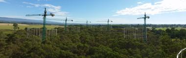<p>Instalaciones experimentales EucFACE de la Western Sydney University / UCA</p>