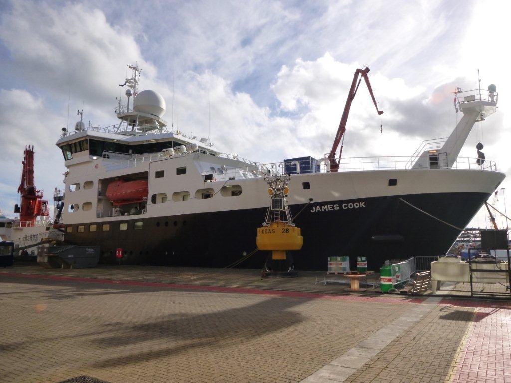 El buque James Cook partirá de Tenerife para estudiar la química del océano