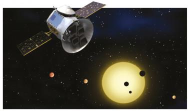 <p>Concepción artística de la misión TESS. / NASA/MIT</p>