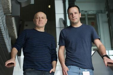 <p>(De izquierda a derecha)Andrés Hidalgo y José María Adrover / CNIC</p>