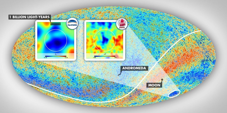Encontrada una explicación al Punto Frío del universo