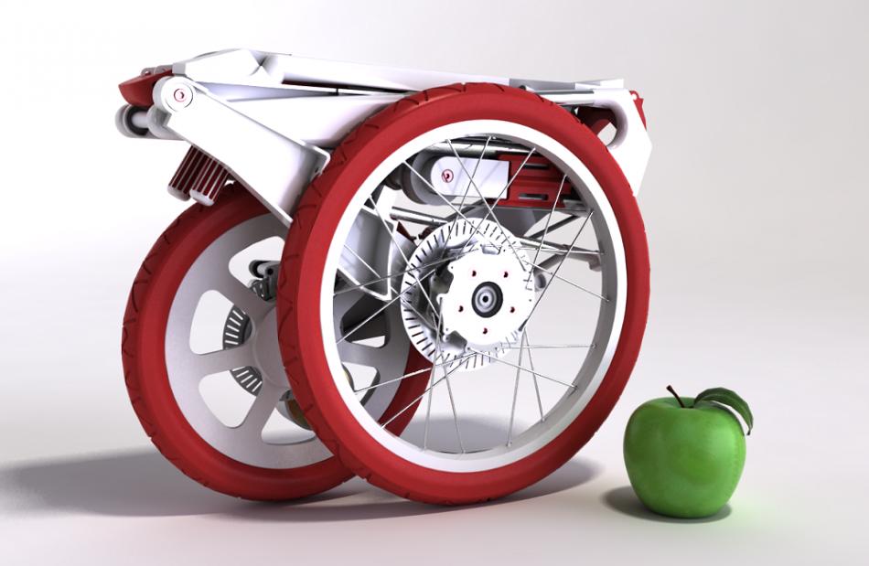 La bicicleta que cabe en un maletín
