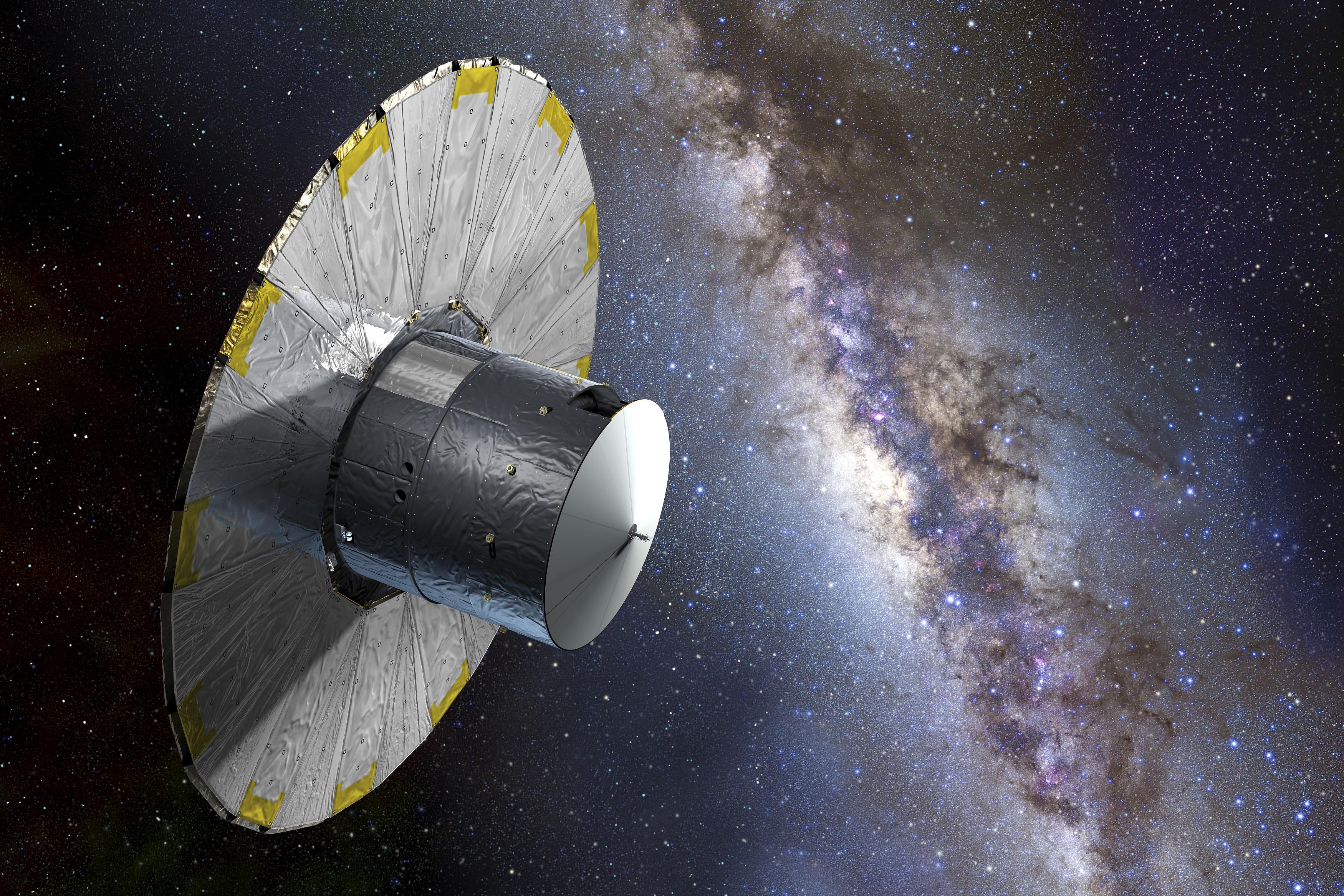 9ae632b8eb5 La misión Gaia despega para retratar mil millones de estrellas en nuestra  galaxia / Noticias / SINC
