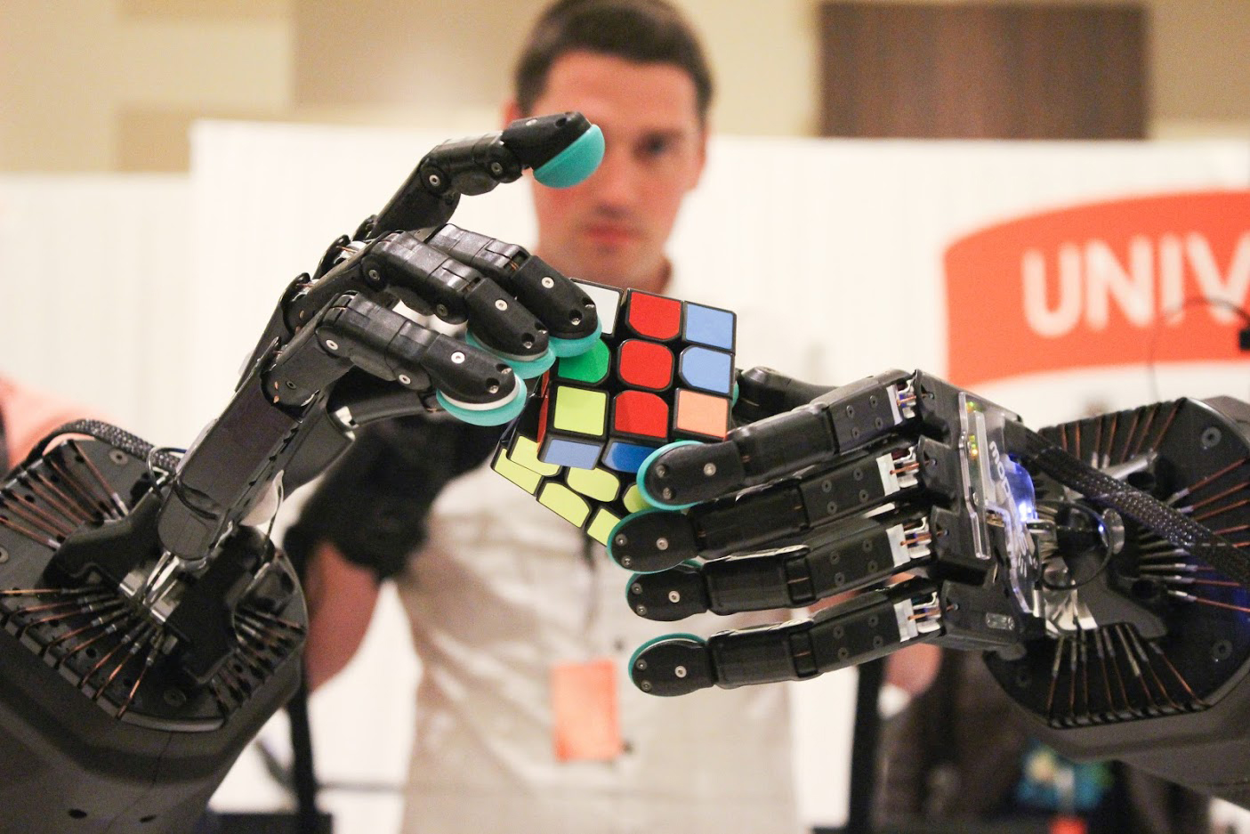 La nueva generación de robots tendrá manos más humanas