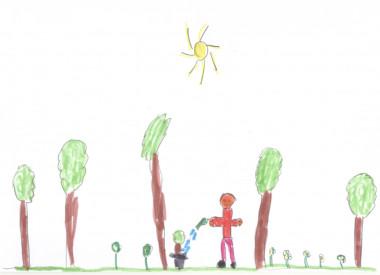 La Simetría, Un Recurso Infantil Espontáneo Para Dibujar