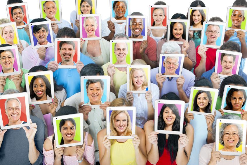 Las caras humanas han evolucionado para ser únicas e inconfundibles