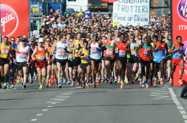 "<p>Runners who took part in the London marathon in&nbsp;2012.&nbsp;/ <a href=""https://www.flickr.com/photos/kyletaylor/7156864608/sizes/o/in/photostream"" target=""_blank"">Kyle Taylor</a></p>"