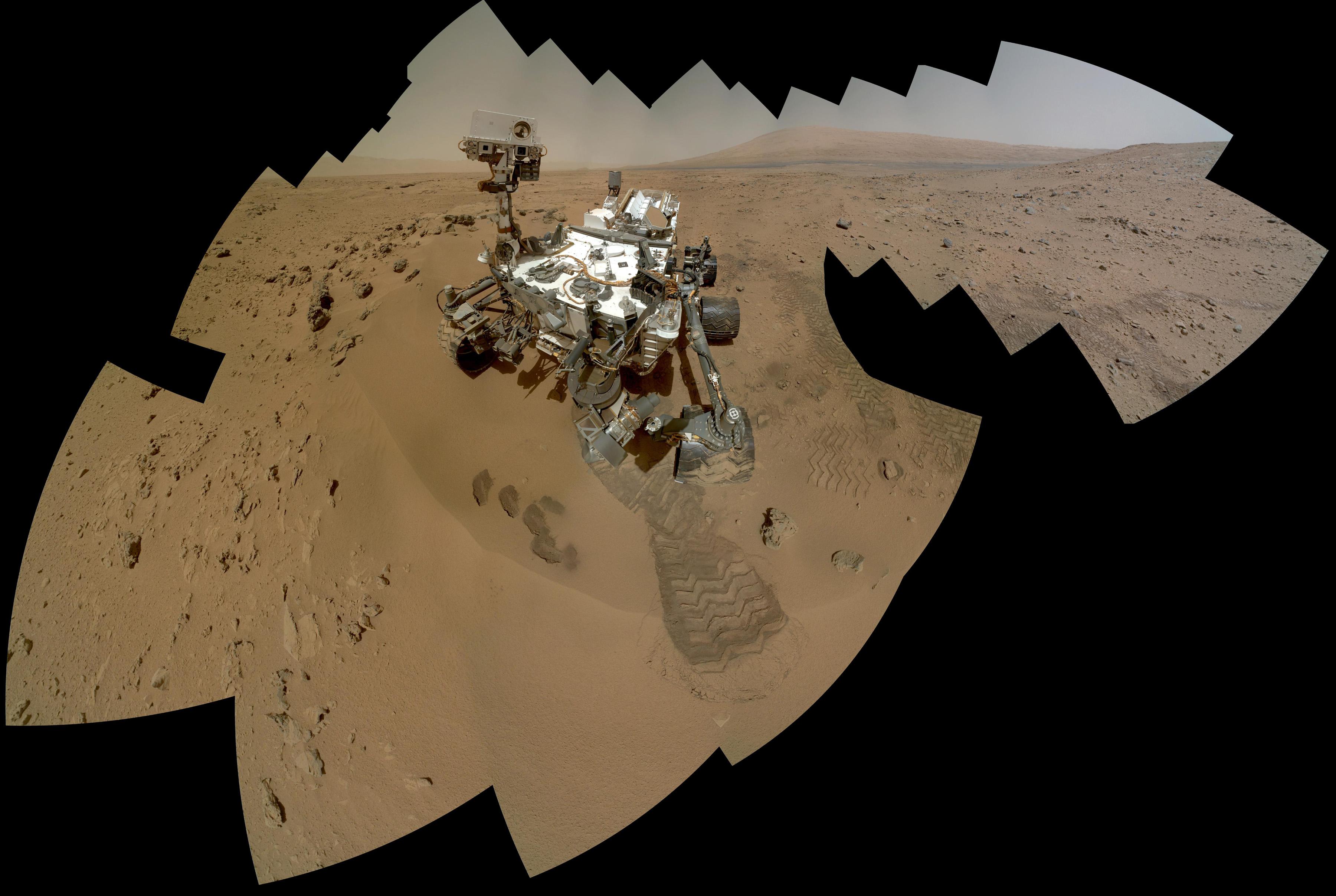 Las muestras recogidas por Curiosity confirman la presencia de agua en Marte