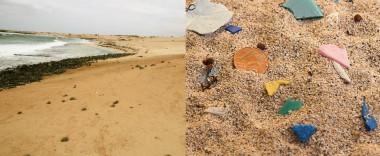 """<p/>Playa del Ámbar (izquierda) y detalle de la arena. / Somos Canarias-Fotografía B2O"""" style="""""""" /><span style="""